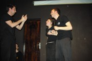 [Impro Paris 4x4 d'impro Café de Paris Trait d'union 79]