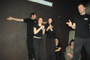 [Impro Paris 4x4 d'impro Café de Paris Trait d'union 216]